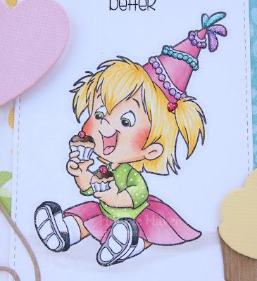 Heather's Hobbie Haven - My Cupcake Twila Card Kit