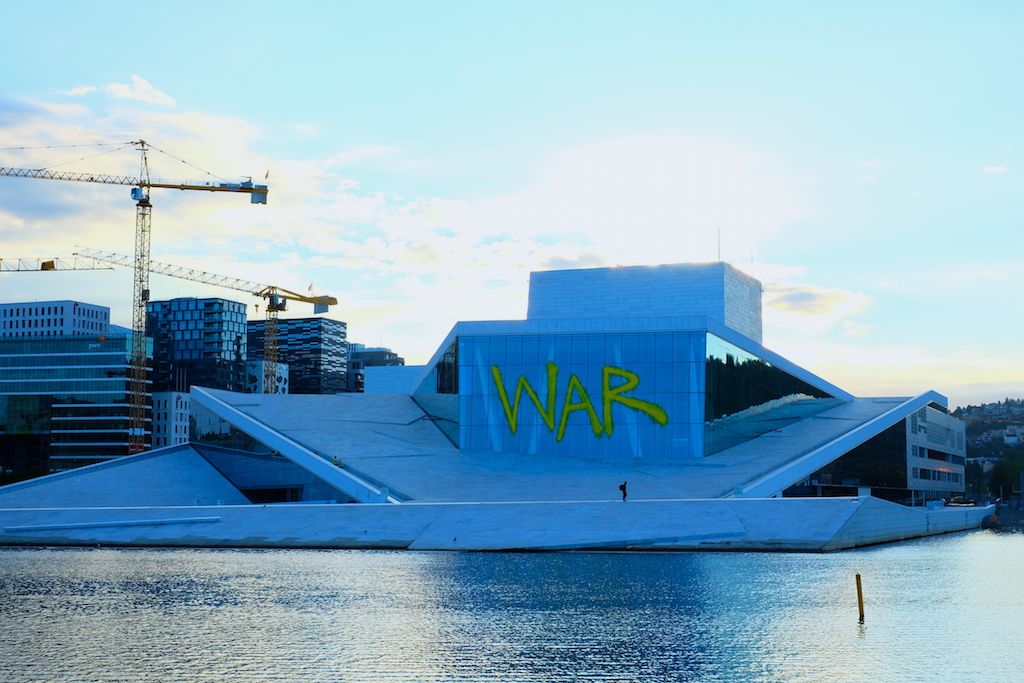 Journey to Desert and Arctic - Oslo Opera House, Norway