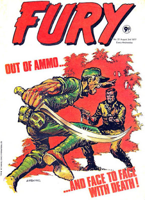 Marvel UK, Fury #21, out of ammo