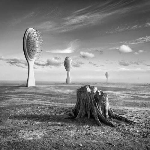 18-Victim-Dariusz-Klimczak-Black-and-White-Surreal-Altered-Reality-www-designstack-co