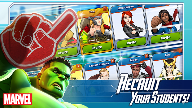 MARVEL Avengers Academy Android Game Apk