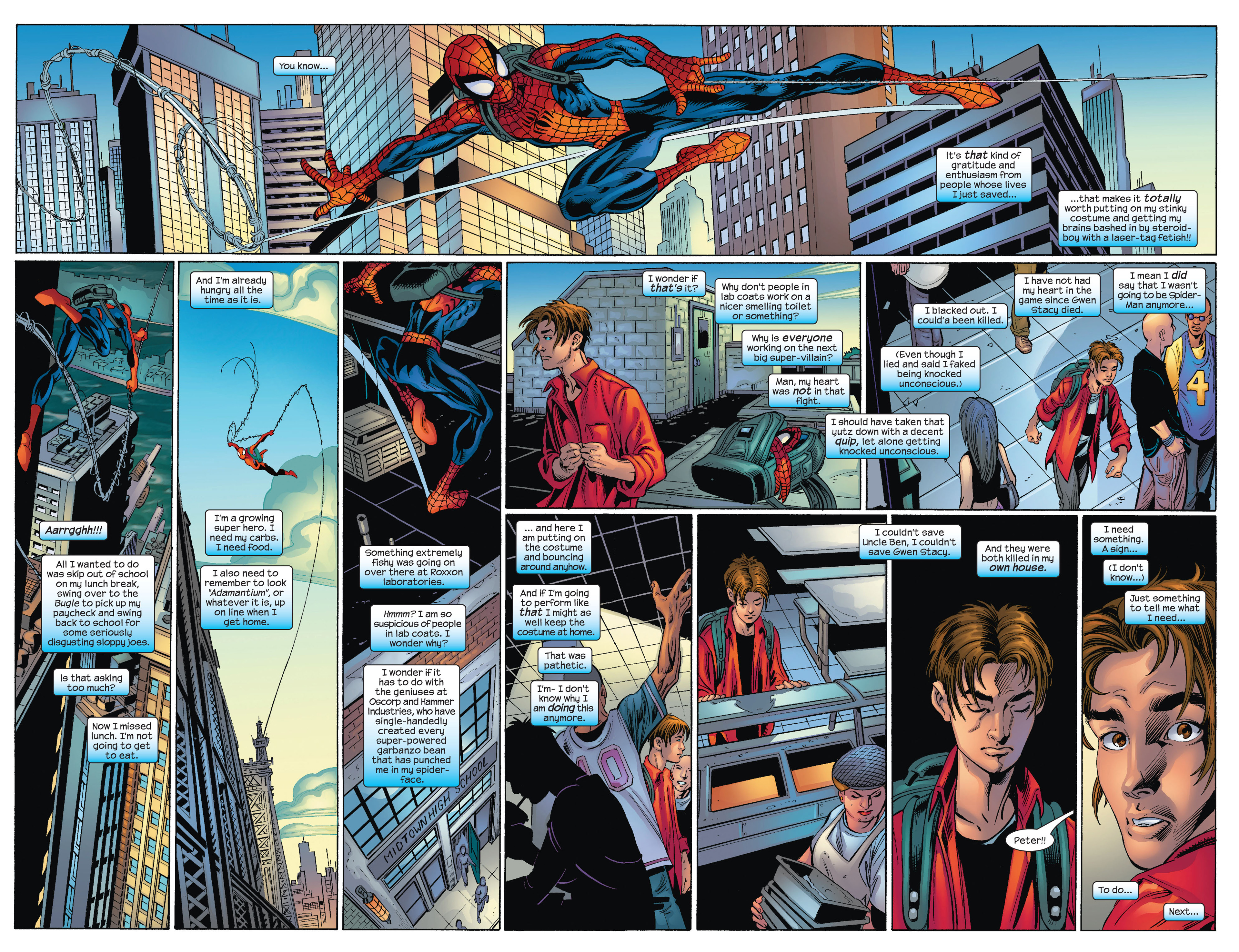 Read online Ultimate Spider-Man (2000) comic -  Issue #72 - 14
