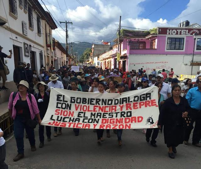 Resultado de imagen para La CNTE se prepara para volver a las calles