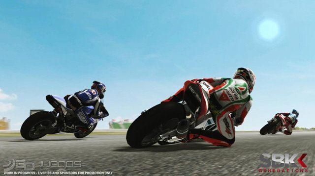SBK Generations Xbox 360 Español Region Free Descargar 2012