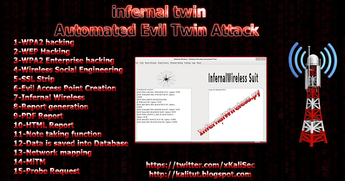 infernal twin Automated Evil Twin Attack