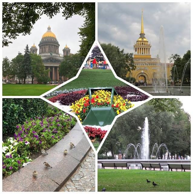 Os Jardins de Alexandre - São Petersburgo - Rússia