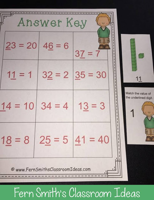 Second Grade Go Math 1.3 Understanding Place Value Lessons, Task Cards, Center Games and Color By Number Resources.