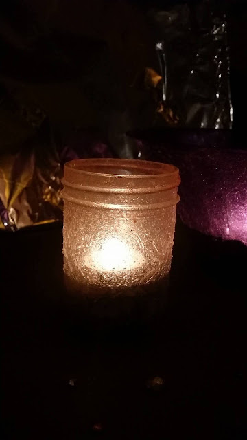 DIY craft project, DIY candle craft project, DIY tealight holders, DIY craft candle dish