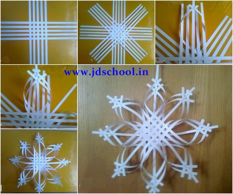 Creative Ideas Make Paper Snowflake Crazzy Craft