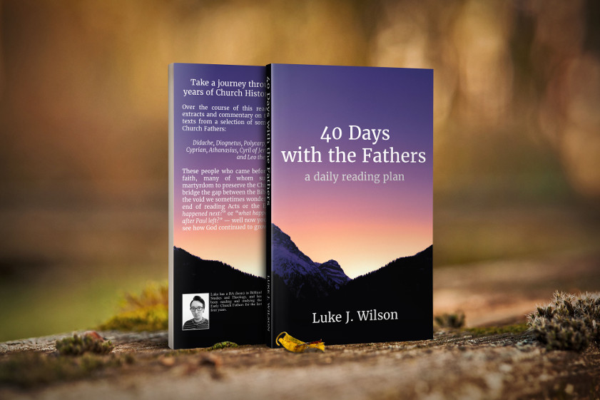 "The book ""40 Days With The Fathers"""