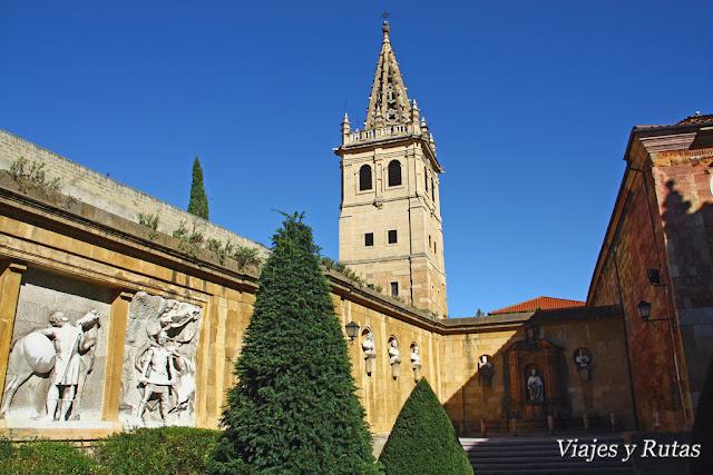 Jardín de los Reyes caudillos de Oviedo
