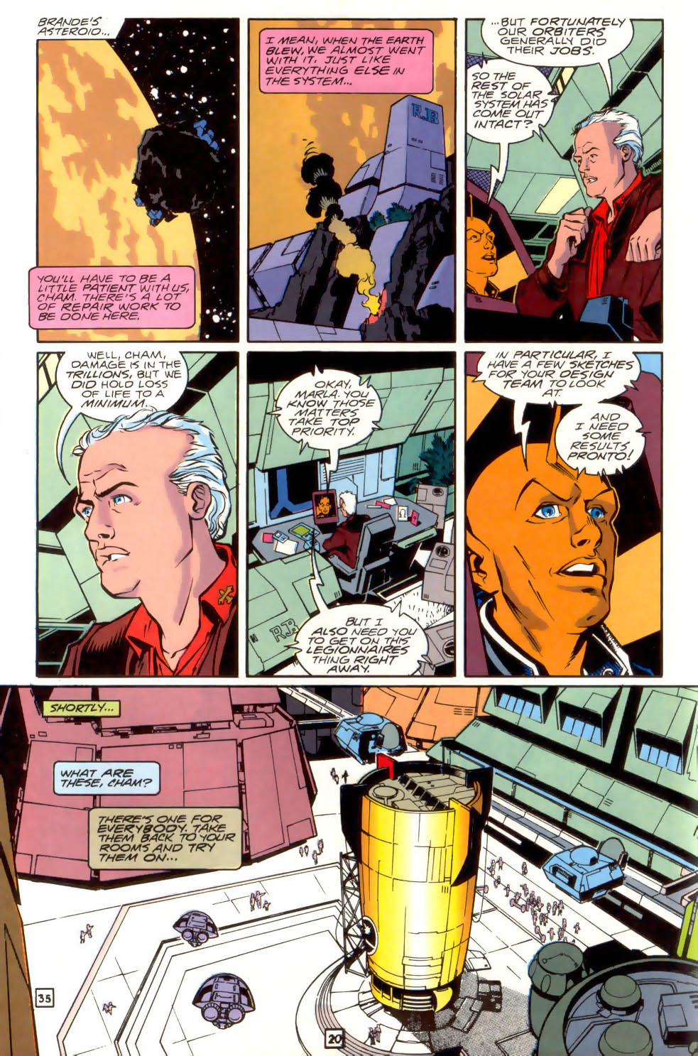 Legion of Super-Heroes (1989) 41 Page 20