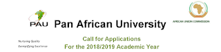 Pan African University Masters & PhD Scholarships for Africans - 2018/2019