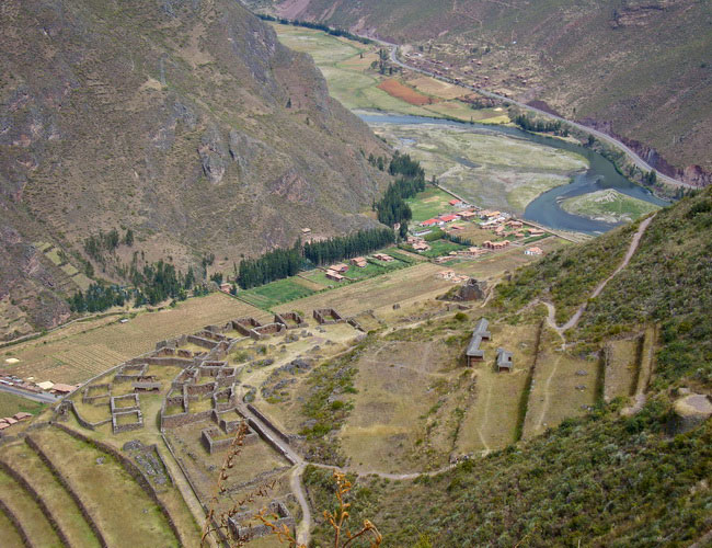 Xvlor Písac is Inca city ruins built by Emperor Pachacuti in 1440