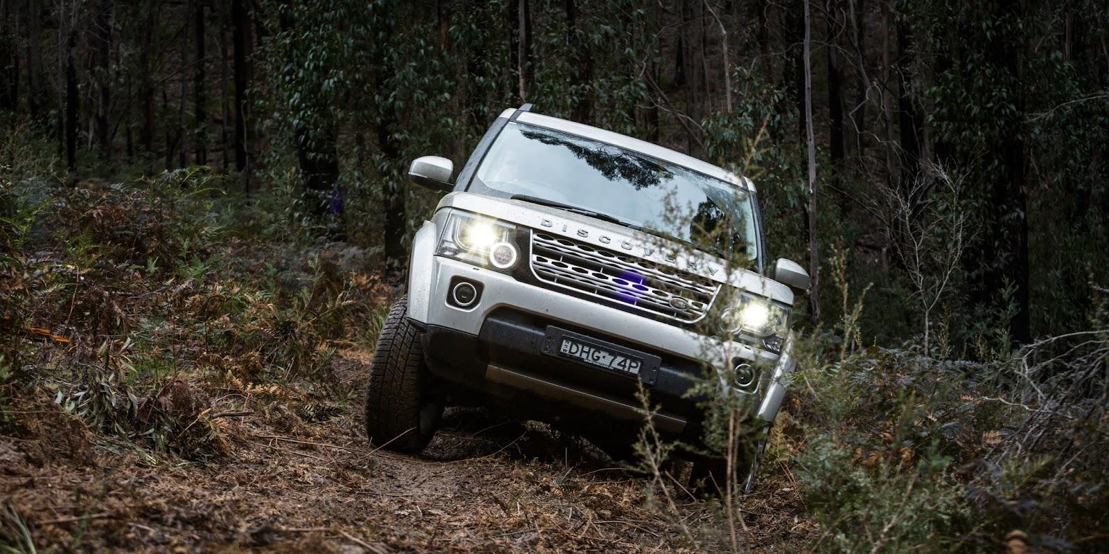 Đầu xe đậm chất mạnh mẽ quý ông lịch lãm của Land Rover
