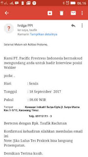 PT Pacific Prestress Indonesia Karawang
