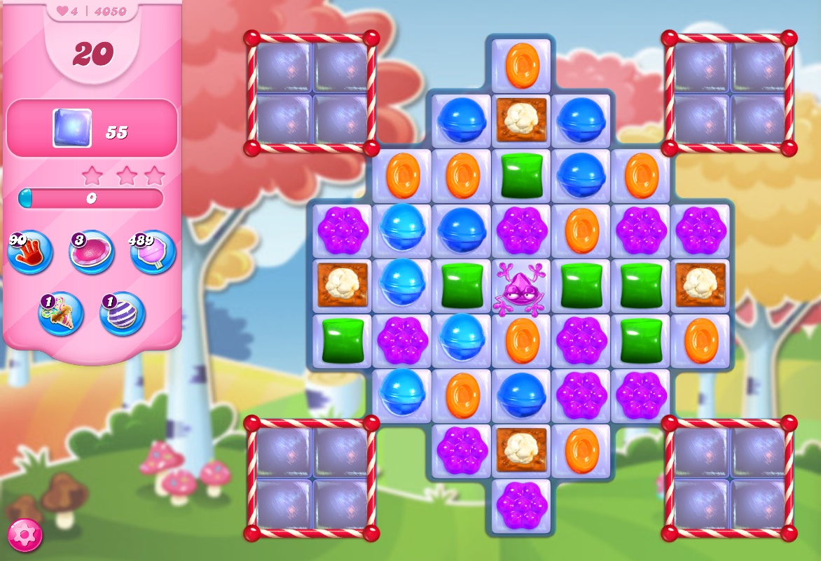 Candy Crush Saga level 4050