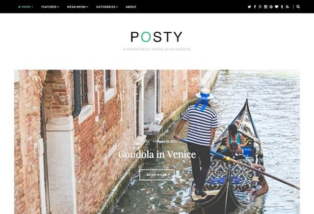 Posty Premium WordPress Theme