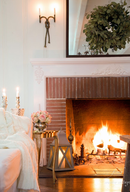 French Country Fridays- 7 tips for warming up your home for winter