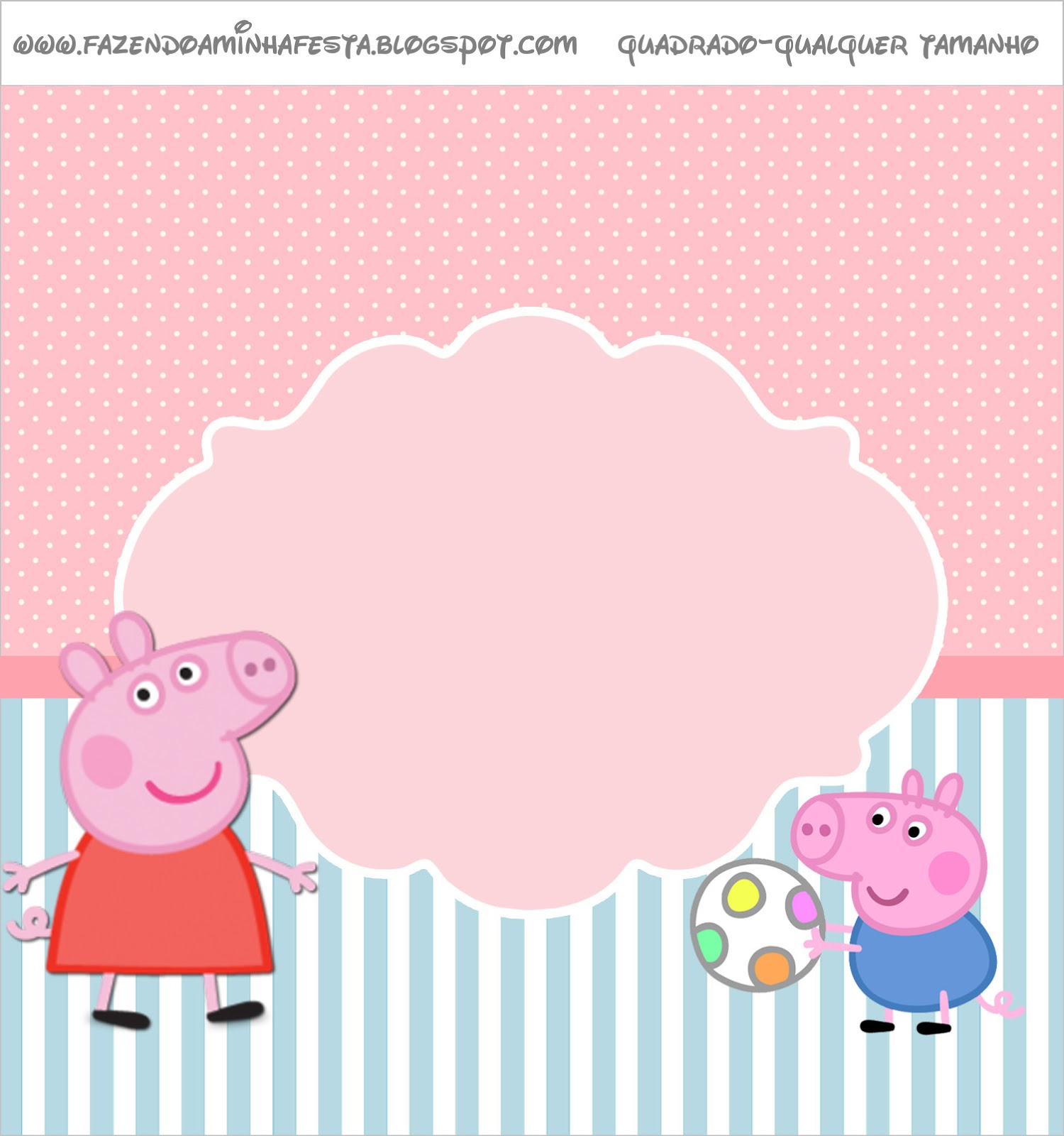 Peppa Pig: Free Printable Labels and Toppers. - Oh My ...