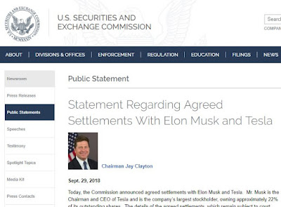 Musk Accepts Settlement with SEC. Good Changes On Its Way