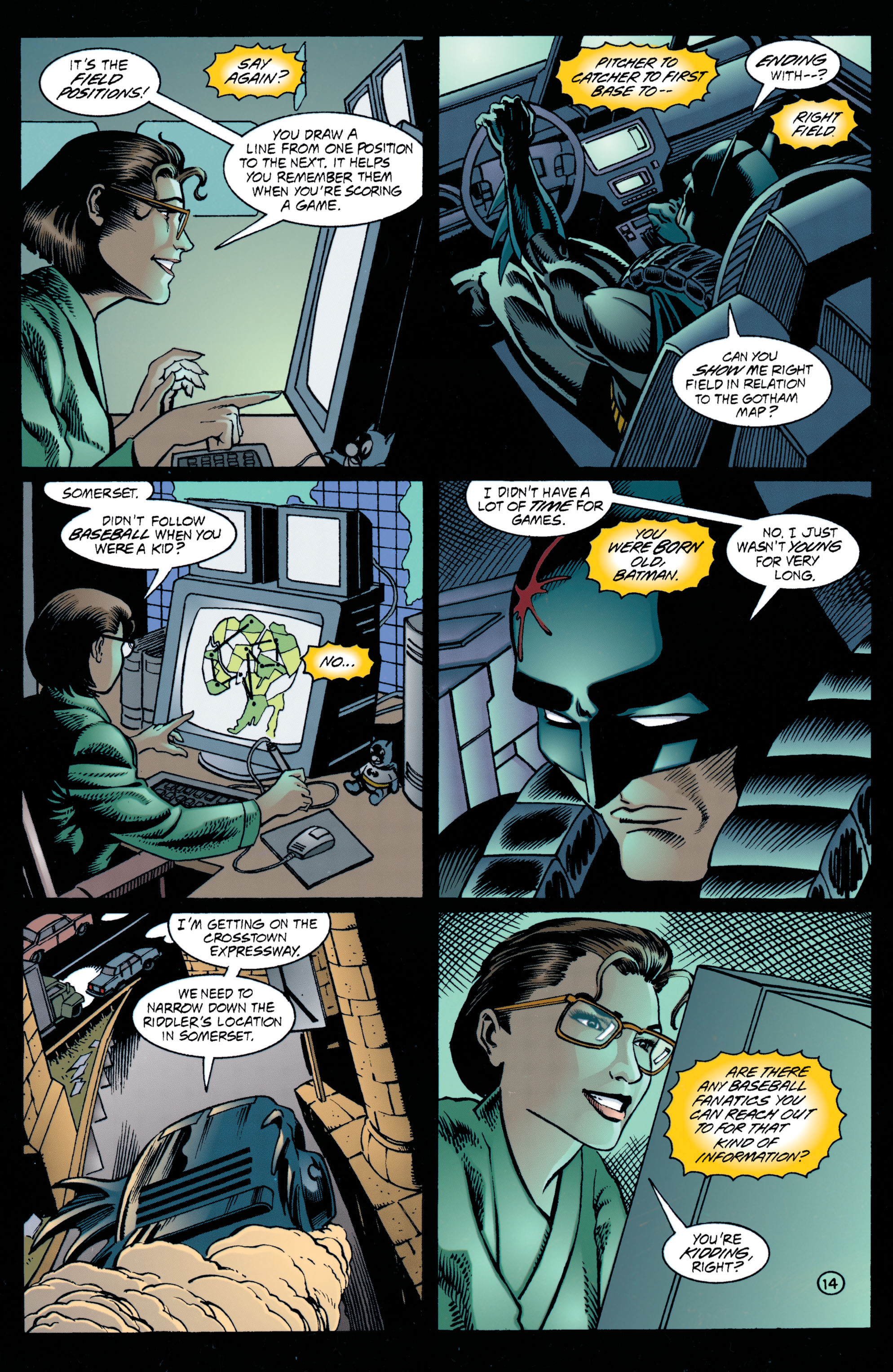 Detective Comics (1937) 707 Page 14