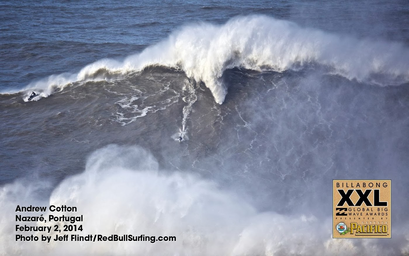 andrew cotton nazare portugal  febrero