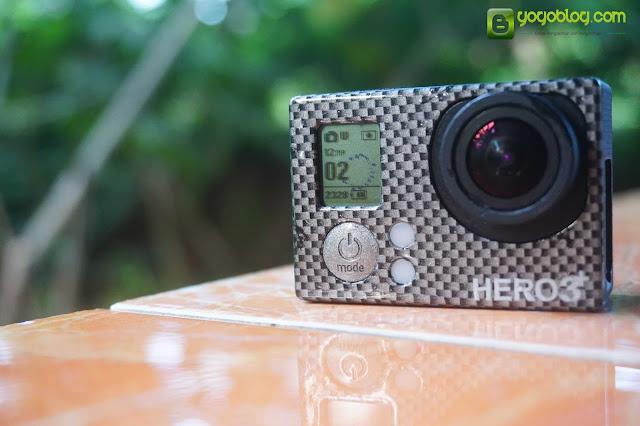 Tampak Depan GoPro Hero 3+ Black Edition