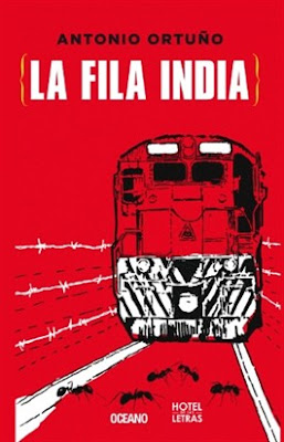 La fila india - Antonio Ortuño