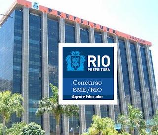 Concurso SME RIO - Secretaria Municipal de Educação RJ 2019