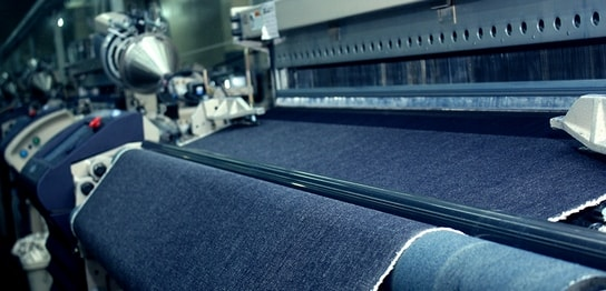what are the steps in manufacturing the denim fabric jeans garment factory