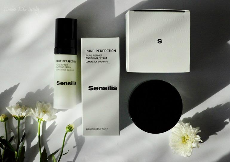 Sensilis PURE PERFECTION ANTIAGING Krem przywracający równowagę i oczyszczenie oraz Serum zwężające pory