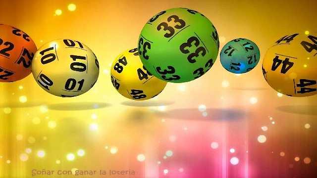 soñar con ganar la loteria