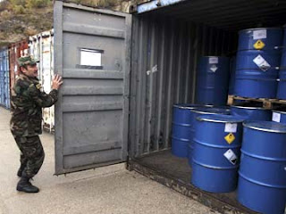 ISIS Seizes chemical weapons cache
