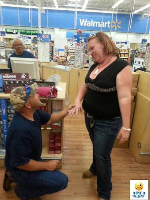 A typical day in walmart