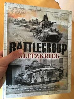 Battlegroup Blitzkrieg rulebook Iron Fist PSC supplement WW2 World War Two miniatures