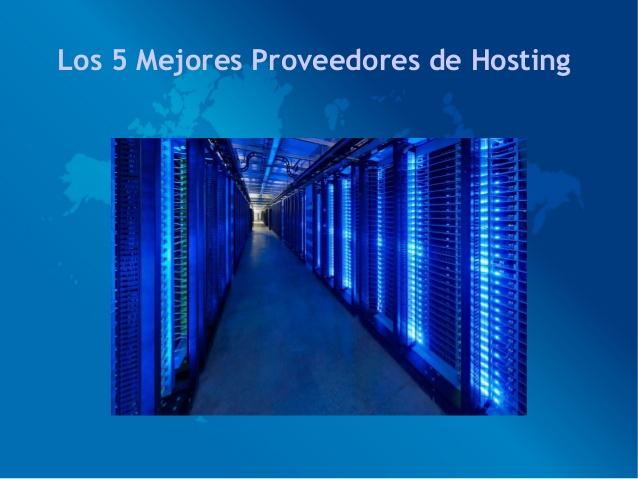Los 5 mejores hosting