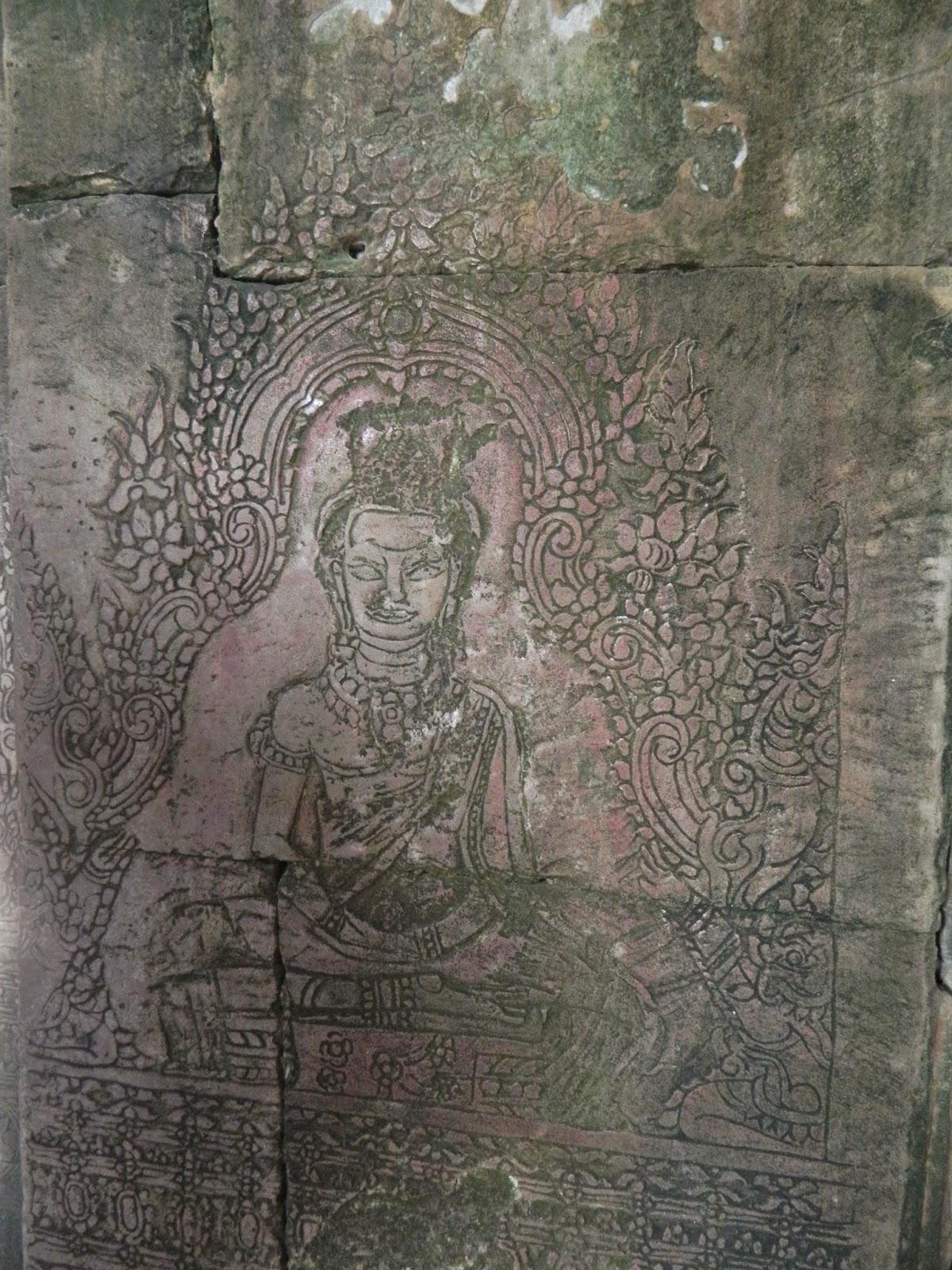 Originally a Buddha sculpture, it was later