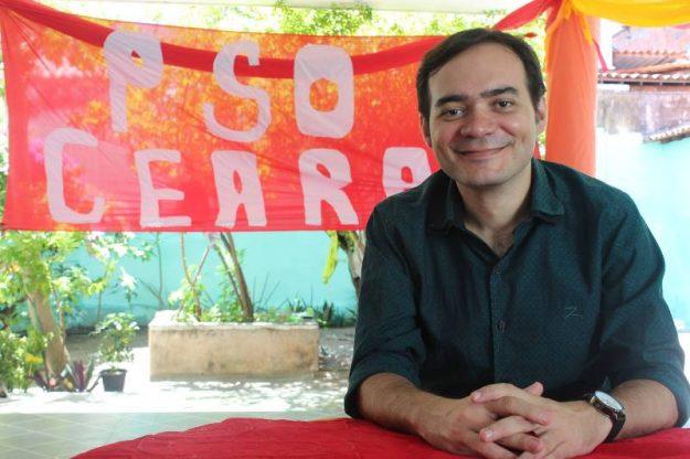 PSOL indica Aílton Lopes para disputar o Governo do Ceará em 2018