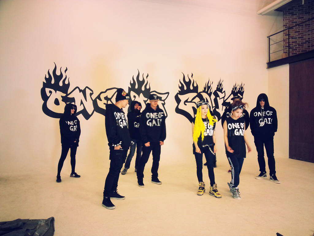 BEG films a parody of G-Dragon's 'One Of A Kind' for