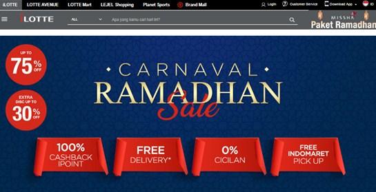 Promo Ramadhan iLotte