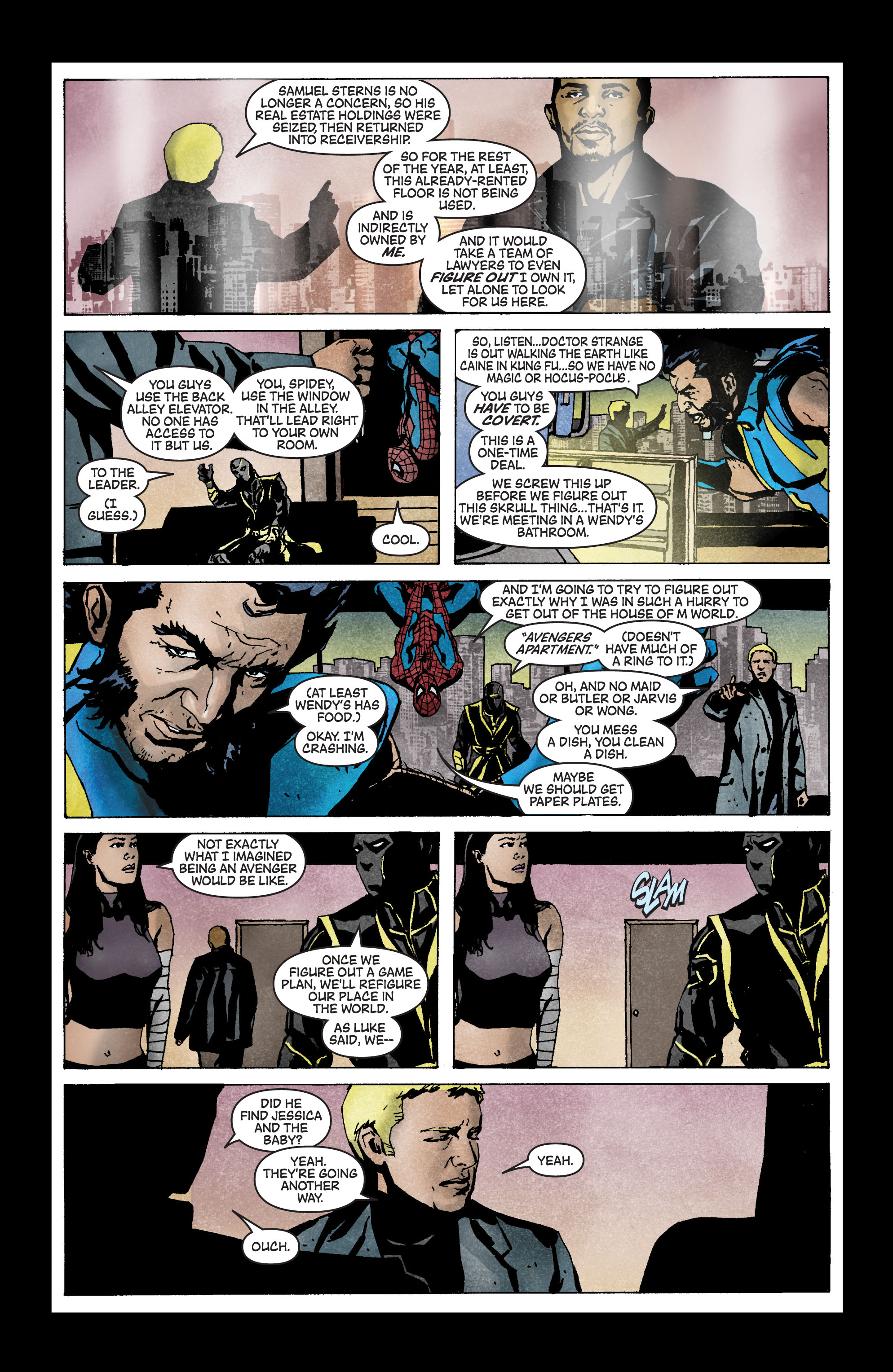 Read online Secret Invasion: The Infiltration comic -  Issue #3 - 19