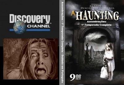 Assombrações Discovery Channel 1ª Temporada DVD Capa