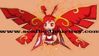 Red Oriental Phoenix Seal Online BoD