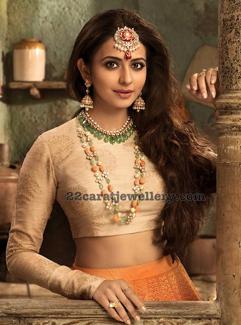 Rakul Preet Singh Vaibhav Jewellers Ad