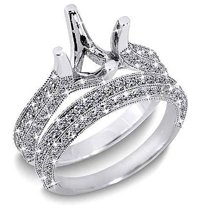 two golden rings unique wedding ring sets unique. Black Bedroom Furniture Sets. Home Design Ideas