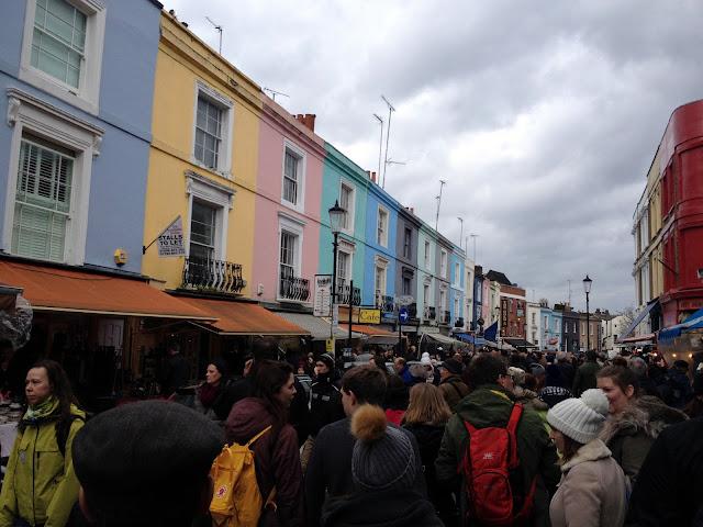 Calle principal de Portobello Market