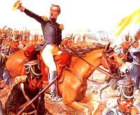 Dibujo de la Batalla de Ayacucho a color