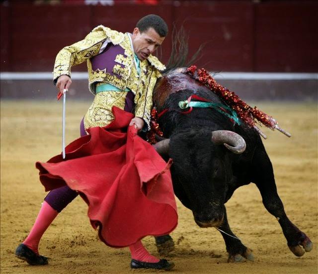 color rojo toros