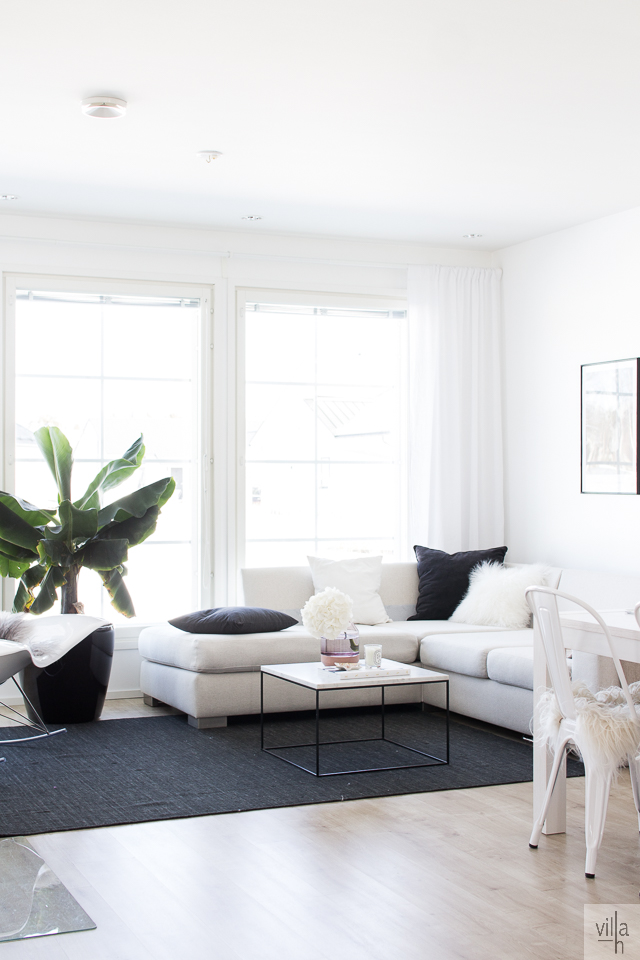 olohuone, interior, sisustus, villa h